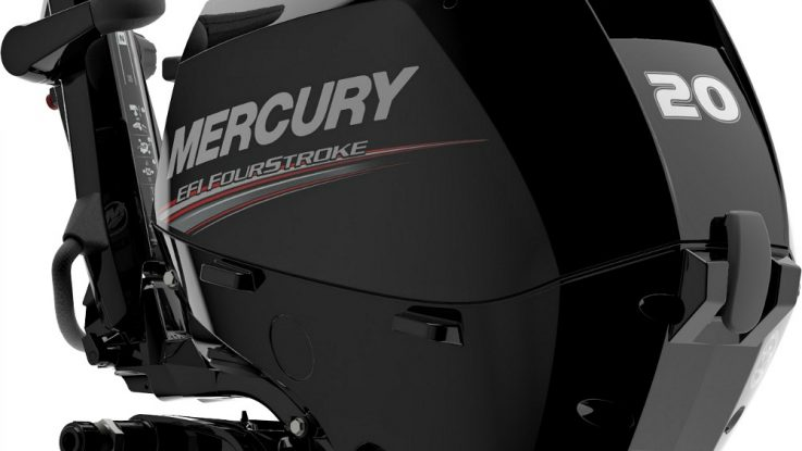 The all new Mercury 15/20hp EFI FourStroke outboard