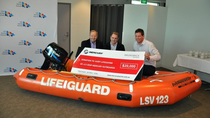 Beachgoers safer thanks to generous seven engine donation