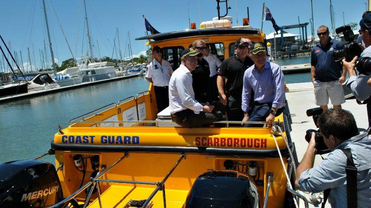 Coast Guard Redcliffe saving lives with new Mercury Verados