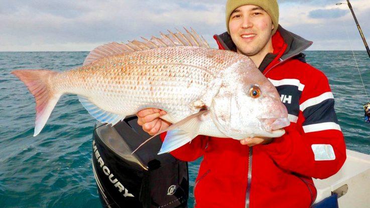 For serious offshore fishing Luke Ryan selects Mercury Verado